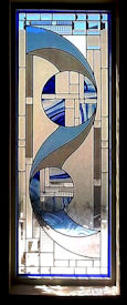 art deco stained glass panel 01