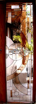art deco stained glass panel 03