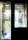 art deco stained glass panel 05