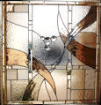 art deco stained glass panel 08