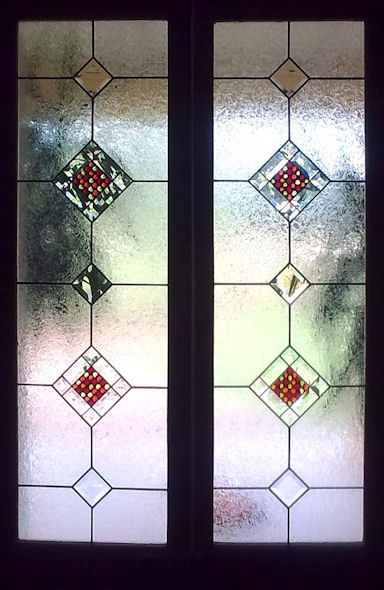 Contemporary Stained Glass Panels Version 3
