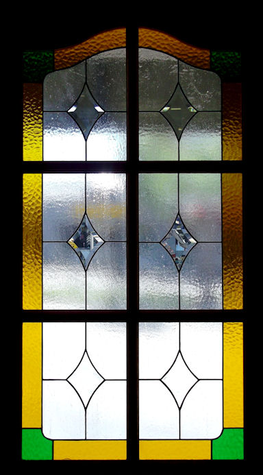 Geometric Stained Glass Panels Version 6