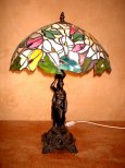 hero exclusive stained glass lamp stand