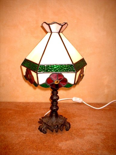 SGBLMB-100 Stained Glass Table Lamp