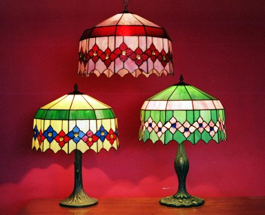 SGFBDB-100 Stained Glass Table Lamp