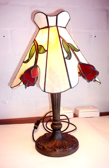 SGBFTRP-100 Stained Glass Table Lamp